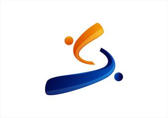 Social relationship logo
