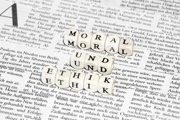 Moral und Ethik