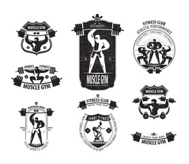 Gym. Vector format