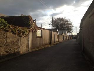 laneway in listowel, ireland