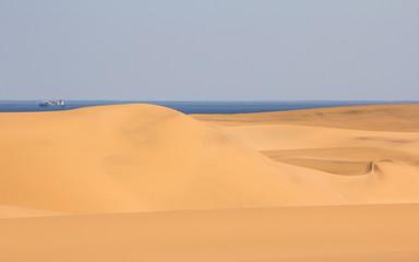 Namib Dunes near Swakopmund, Namibia