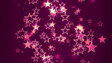 Romantic Retro Stars