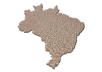 kuruyan brezilya toprağı