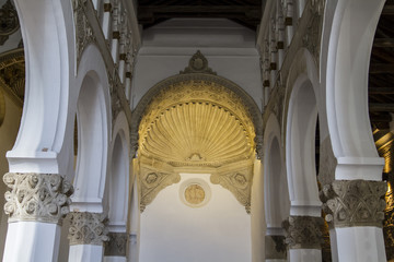 Santa María la Blanca is a temple located in the Spanish city o