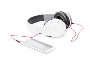 Smart phone and headphones