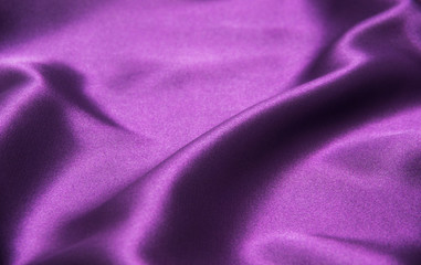 purple silk fabric