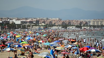 playa de la Malvarrosa, Valencia