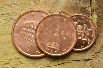 Monete euro italiane Italian euro coins Italienska euromynt