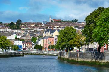 Cork City with River Lee, Ireland