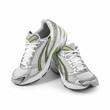 Sport Schuhe isoliert auf weißem Hintergrund