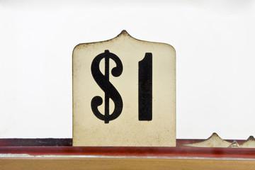 Vintage Dollar Sign