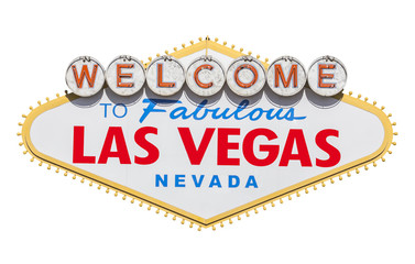 Las Vegas Welcome Sign Cut Out
