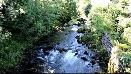 Elterwater river Lake District Cumbria Langdale Valley uk