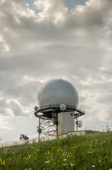 Doppler Radar Weather Station Distant