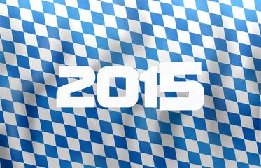 Bavaria Oktoberfest festival flag design