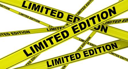 Ограниченная серия (limited edition). Желтая оградительная лента