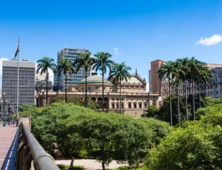 Municipal Theater of São Paulo, Brazil