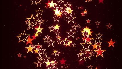 Stylish Retro Christmas Stars