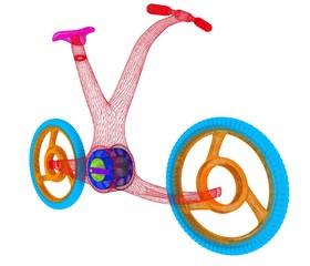 3d modern bike concept