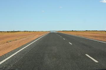 Pathway to sacred mount Uluru