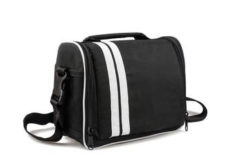 Camera bag isolated on white background