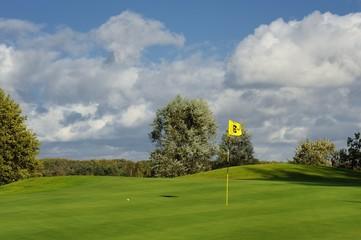 krajobraz wiejski, golf, sport