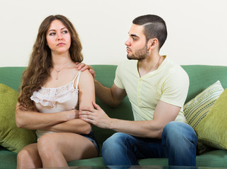 Man tries reconcile with woman