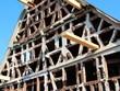 Umbau einer Fachwerkfassade
