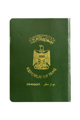 Passport from Iraq.