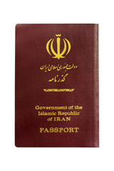 Iran passport.