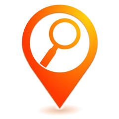 recherche sur symbole localisation orange