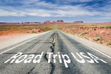 Schriftzug Road Trip USA
