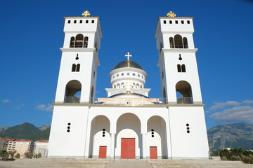 Orthodox Church Of Saint Jovan Vladimir In Bar, Montenegro