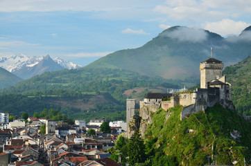 Medieval fortress of Lourdes