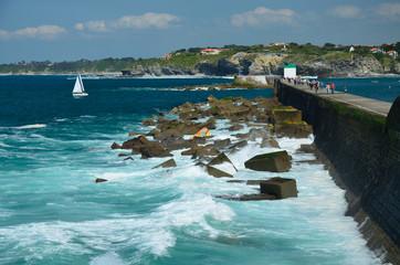 Atlantic coast resort Saint-Jean-de-Luz