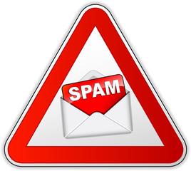 Vector spam icon