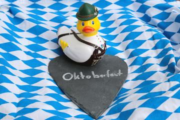 bayerische Ente mit Herz