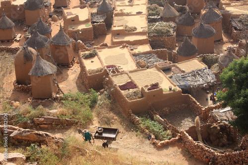 Fotobehang Overige African village