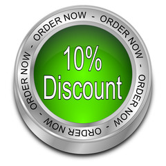 10% Discount - Order now Button
