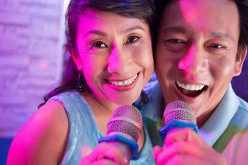 Senior Vietnamese couple