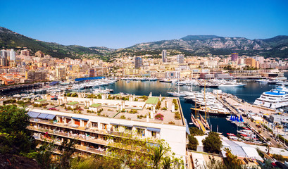 Principality of Monaco harbor