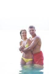 Couple on resort