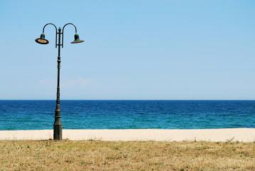 Lantern At Seaside