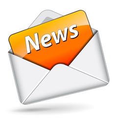 Vector news message