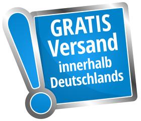 Gratis Versand innerhalb Deutschlands