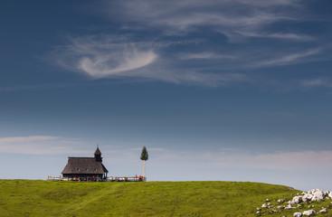 Church, Velika Planina, Slovenia