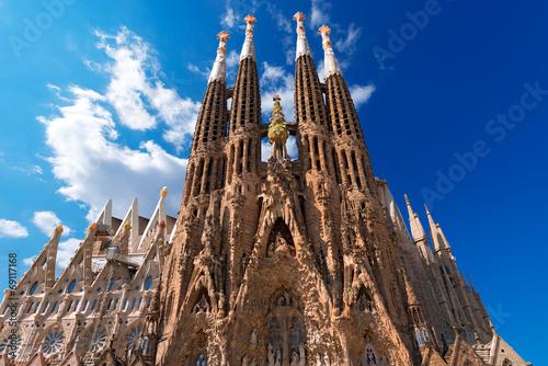 Temple Expiatori de la Sagrada Familia - Barcelona Spain - 69117168