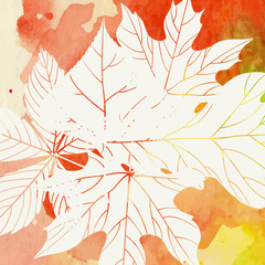 Creative Autumn Background