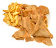 Doner Meat And Chips