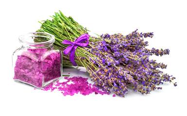 Sea salt with lavender